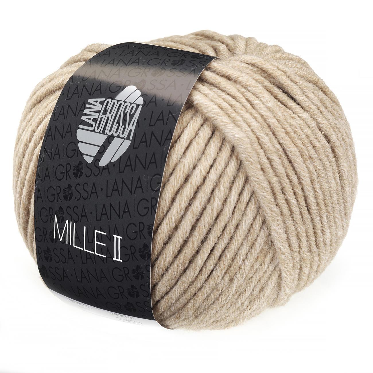 Mille II Fb 80 loden 50 g Lana Grossa Wolle Kreativ