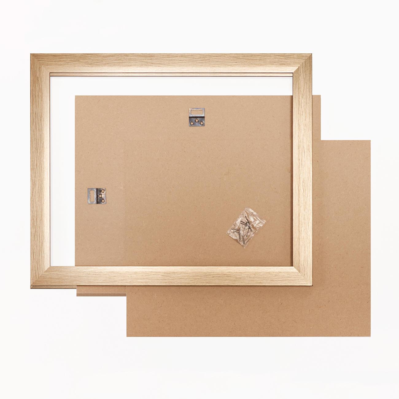 bilderrahmen blass goldfarben verschiedene gr ssen. Black Bedroom Furniture Sets. Home Design Ideas