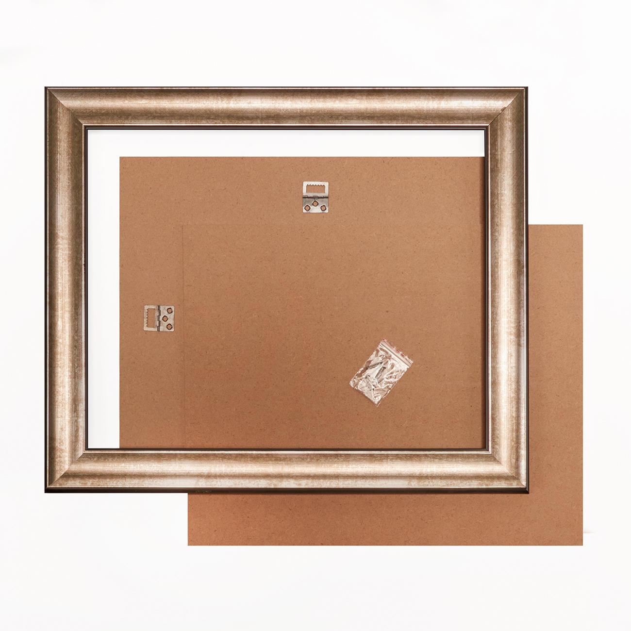 bilderrahmen dunkel silber verschiedene gr ssen. Black Bedroom Furniture Sets. Home Design Ideas