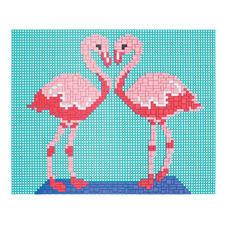 """Ministeck """"Flamingo"""" Einzigartig detailreich, einzigartig abwechslungsreich: Mosaikbilder aus Ministeck"""