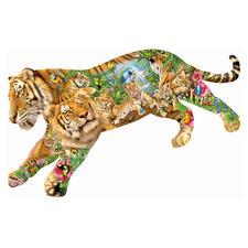 """Puzzle """"Tiger"""" Ein Spass für die ganze Familie – spannend und entspannend zugleich."""