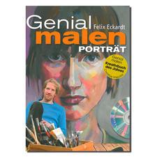 """Buch Felix Eckardt - Genial malen – Porträt Buch Felix Eckardt """"Genial malen – Porträt"""""""