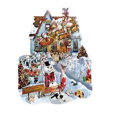"""Puzzle """"Weihnachtshaus"""" Ein Spass für die ganze Familie – spannend und entspannend zugleich."""