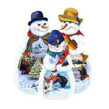 """Puzzle """"Schneemänner"""" Ein Spass für die ganze Familie – spannend und entspannend zugleich."""