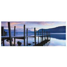 """Panorama Puzzle """"Idylle am See"""" Puzzeln – ein Spass für die ganze Familie."""