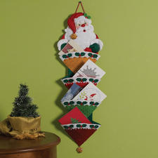 Weihnachtlicher Kartenhalter