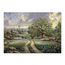 """Puzzle """"Country Living"""" Puzzles nach Kunstwerken von Thomas Kinkade"""