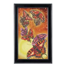 "Bead-Art-Bild ""Harmonie"" Bead Art – Bilder mit edlem Perlen-Effekt."