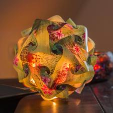 CREApop® Design-Kugel, Ø 30 cm Originelle CREApop® Design-Lampen selbst gemacht.