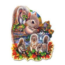 """Puzzle """"Eichhörnchen"""" Puzzeln - Ein Spass für die ganze Familie – spannend und entspannend zugleich."""