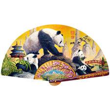 """Puzzle """"Panda-Fächer"""" Puzzeln - Ein Spass für die ganze Familie – spannend und entspannend zugleich."""