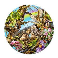 Puzzle - Eulenfamilie