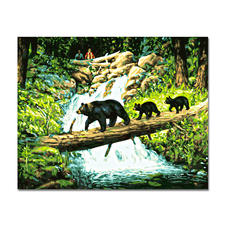 Malen nach Zahlen - Bärenparade Malen nach Zahlen.