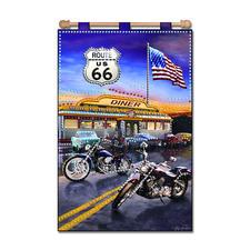 """Wandbehang """"Route 66"""""""