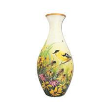 Puzzle Vase - Goldfinken