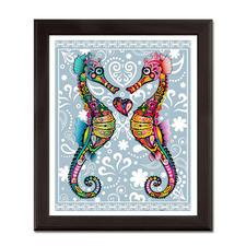 """Puzzle """"Seepferdchen"""" Puzzles im kunterbunten Hippie-Design."""