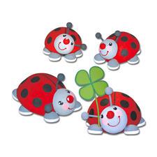 Käfer im Glück - aus Zellstoffwatte Lustige Tierchen aus Zellstoffwatte.
