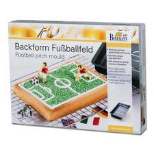 """Motivbackform """"Fussballfeld"""""""