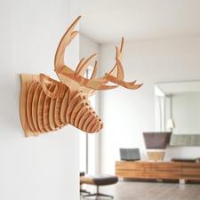 "3D-Wandekoration ""Hirsch"" 3D-Wandekorationen"