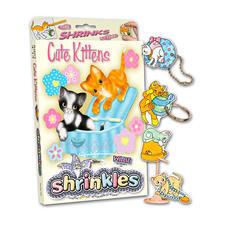 """Komplettpackung Shrinkles """"Cute Kittens"""" Shrinkles"""