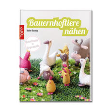 Buch - Bauernhoftiere nähen.