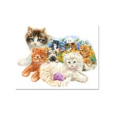 Puzzle - Katzenbabys Puzzeln - Ein Spass für die ganze Familie – spannend und entspannend zugleich.