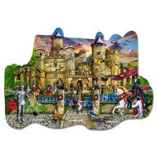 Puzzle - Schloss Stronghold Puzzeln - Ein Spass für die ganze Familie – spannend und entspannend zugleich