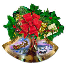 Puzzle - Weihnachtsglocken Puzzeln - Ein Spass für die ganze Familie – spannend und entspannend zugleich