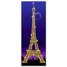 """Paillettenbild """"Eiffel Turm"""" Das Wahrzeichenvon Paris"""