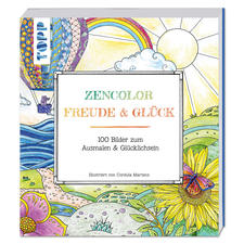 "Buch ""Zencolor: Freude & Glück"""
