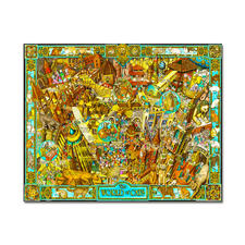 "Puzzle ""The World of Cats"" nach Albert Lorenz Meisterwerke grosser Künstler als Puzzle"