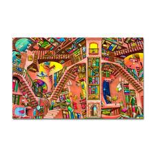 Puzzle - The Library nach Colin Thompson Meisterwerke grosser Künstler als Puzzle