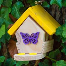 Minibugs - Schmetterlingshaus Insektenhotels - gemütliches Heim für kleine, nützliche Gartenhelfer.