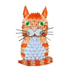 """Modulares Origami """"Katze"""""""