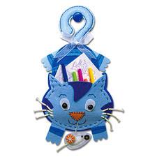 Hänge-Utensilo - Katze Filzen – der beliebte Bastelspass für Erwachsene und Kinder.