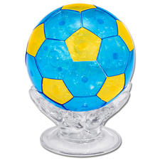 "3D Kristall Puzzle ""Fussball"" 3D Figuren Puzzles"
