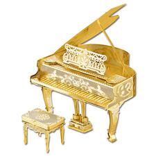 """3D-Miniaturen """"Piano"""" Hochwertige Edelstahl – Miniaturen in 3D. Jetzt auch in Gold und Silber."""