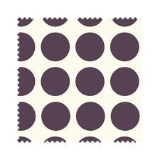 """Stoffzuschnitt """"Fenton House"""" Dots gross Traditionelle Dessins in elegant-kräftigen Farben."""