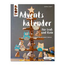 """Buch - Adventskalender für Gross und Klein Buch """"Adventskalender für Gross und Klein""""."""