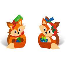 """Geschenkboxen """"Füchse"""" Originelle Geschenkboxen."""