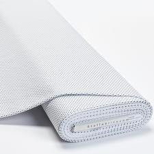 Meterware Baumwoll-Jersey - Pünktchen Weiss Baumwoll-Jersey – Der ideale Stoff für bequeme Shirts, Kleider und Kindermode.