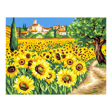 """Malen nach Zahlen """"Sonnenblumen"""" Malen nach Zahlen."""