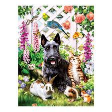 """Puzzle """"Gartenfreunde"""" Ein Spass für die ganze Familie – spannend und entspannend zugleich."""