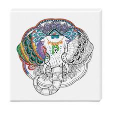Zen-Color™ Keilrahmen-Bild - Elefant Zen-Color™ - Die Art des Entspannens.