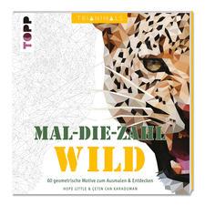 """Ausmalbuch - Trianimals. Mal-die-Zahl: Wild. Ausmalbuch """"Trianimals. Mal-die-Zahl: Wild."""""""