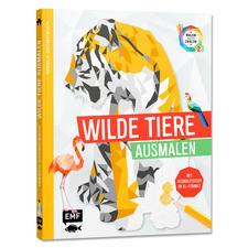 """Buch - Tierisch Geometrisch – Wilde Tiere ausmalen Buch """"Tierisch Geometrisch – Wilde Tiere ausmalen"""""""
