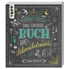 """Buch """"Handlettering. Das grosse Buch der Schmuckelemente""""."""