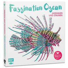 """Buch - Faszination Ozean Ausmalbuch """"Faszination Ozean"""" – Ausmalen und Staunen."""
