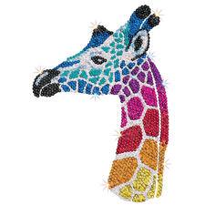 """Paillettenbilder für Erwachsene """"Safari"""" Paillettenbilder mit eindrucksvollen Motiven"""