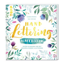 Buch - Handlettering Watercolor